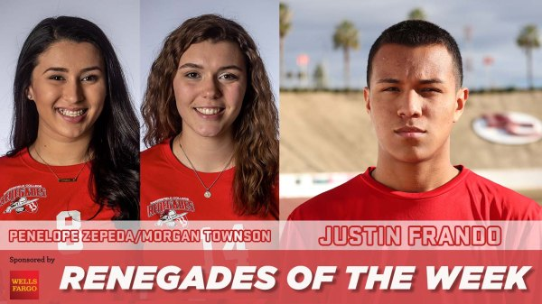 Renegades of the Week photo