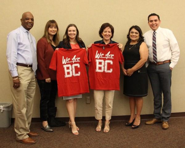 Amanda Stayton, Dr Kathy Murphy, and BC team