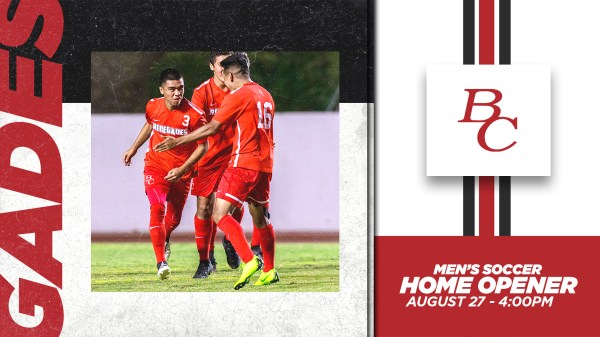 Mens Soccer Home Opener Graphic
