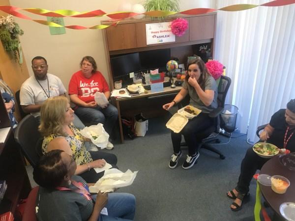 Ashlea Wagner birthday party