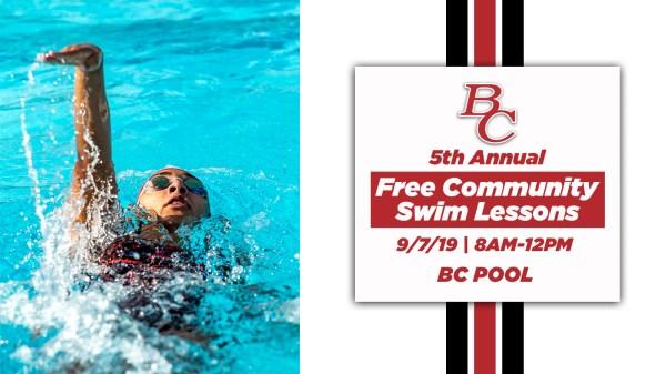 Free Swim Lessons at BC