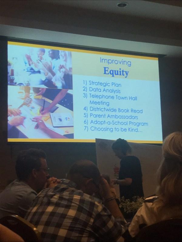 Improving Equity slide.