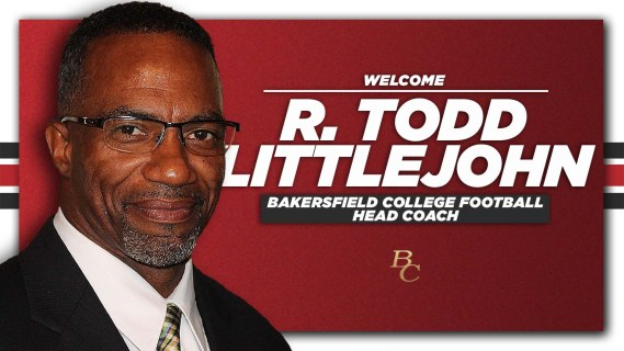 Welcome R. Todd Little John Bakersfield College Football Head Coach BC.