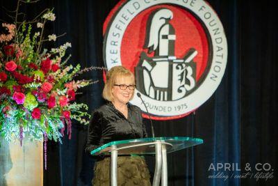 Foundation Executive Director Liz Rozell.
