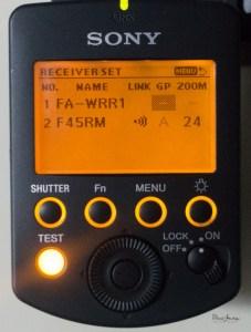 Sony Wireless triggers-101