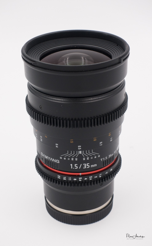 Samyang 35 T1.5 Cine lens- -001