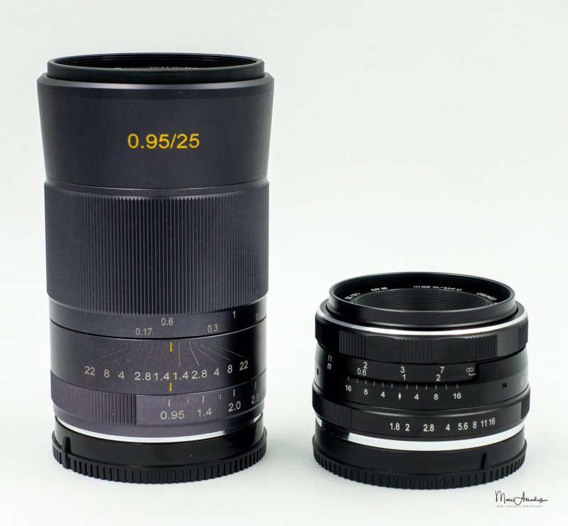 Meike 25mm F0.95-11