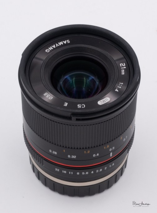 Samyang 21mm F1.4 ED UMC CS-2