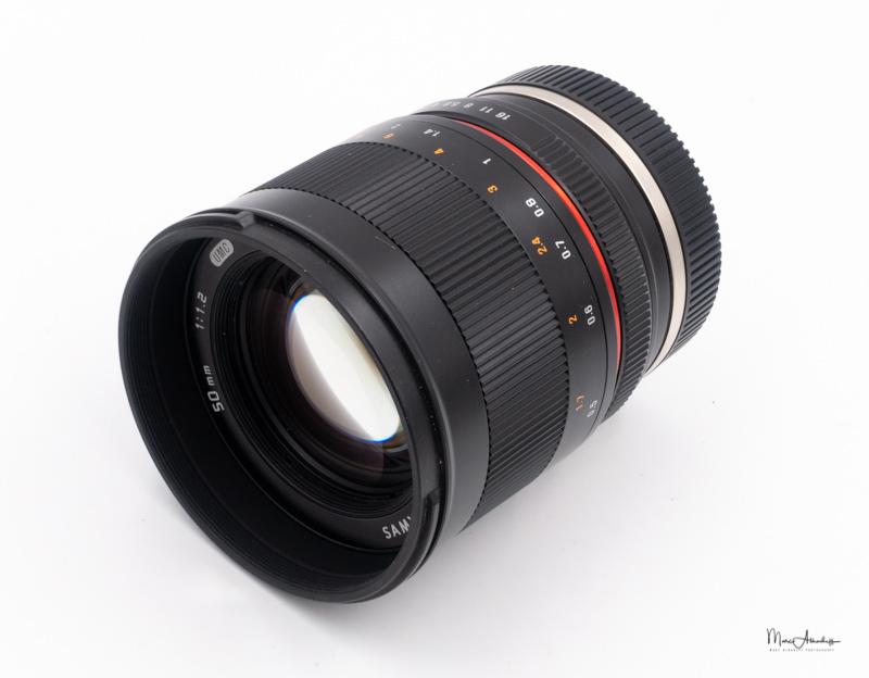 Samyang 50mm F1.2 ED UMC CS-104