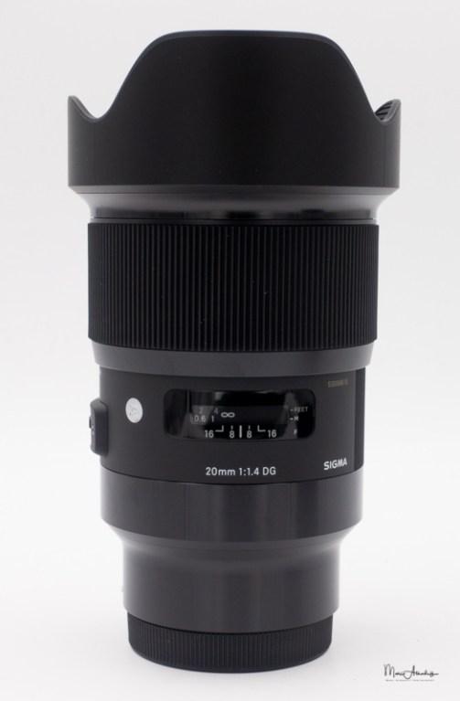 Sigma 20mm F1.4 DG Art-202