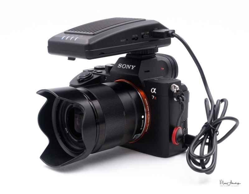 CamFi Pro - Wireless camera controller for Sony E mount test