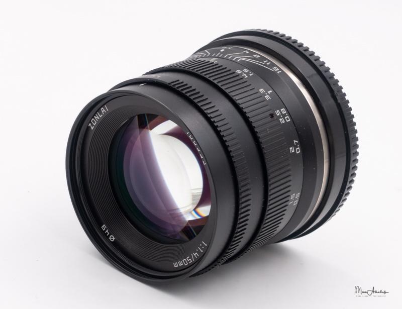 Zonlai 50mm F1.4-3