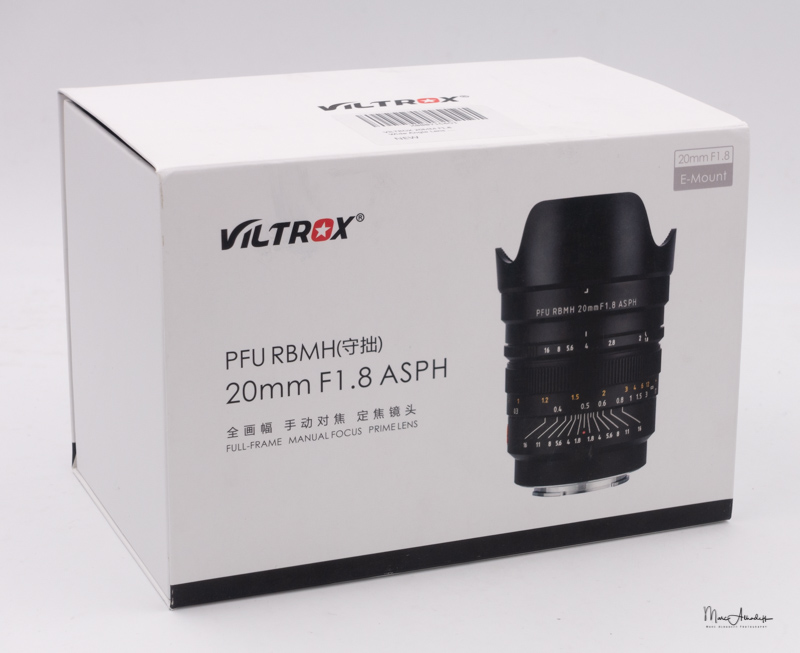 Viltrox PFU RBMH 20mm F1.8-13