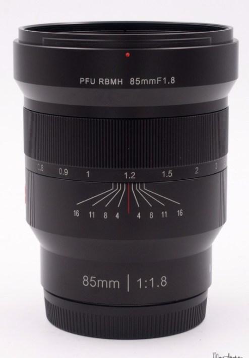 Viltrox PFU RBMH 85mm F1.8-2