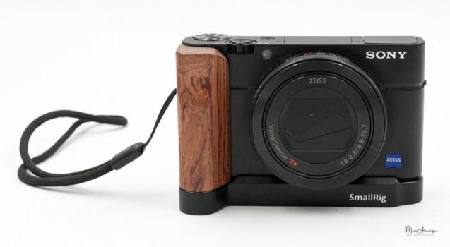 SmallRig L-shape wooden grip for Sony RX100 III IV V VA 2248-008
