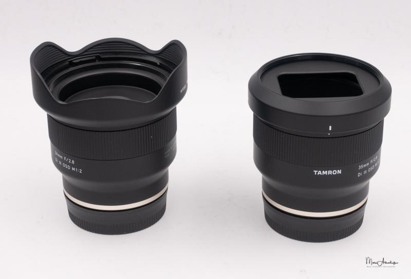 Tamron E 24mm & 35mm F2.8-2