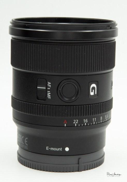 Sony FE 20mm F1.8 G-10