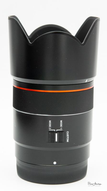 Samyang 75mm F1.8-12