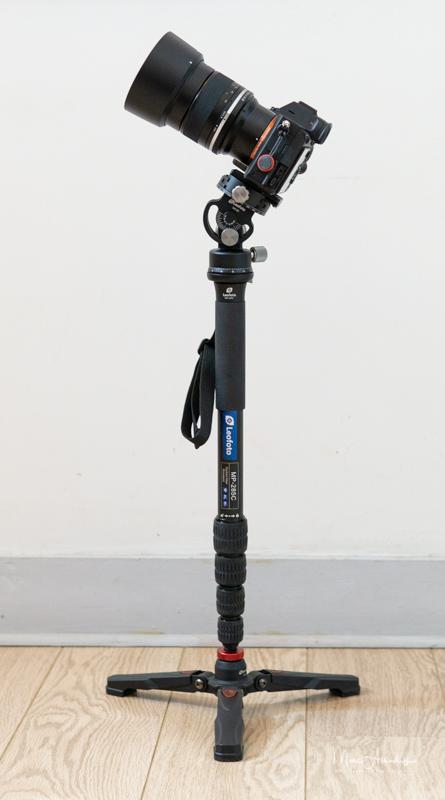 Leofoto VH-20 Monopod Head-11