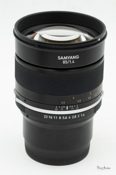 Samyang MF 85mm F1.4 MK2-3