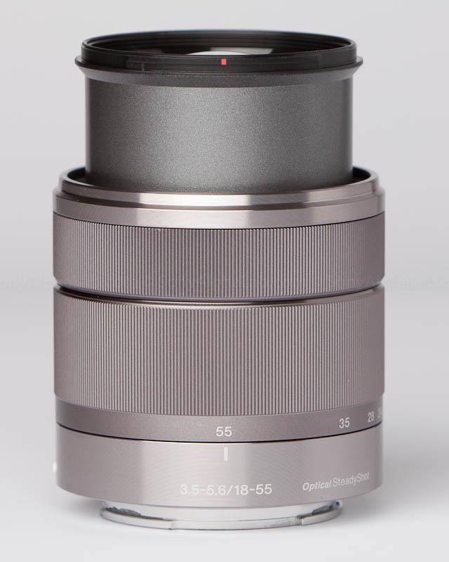 Sony E-Mount 18-55mm f/3.5-5.6 Zoom Lens @ 55mm
