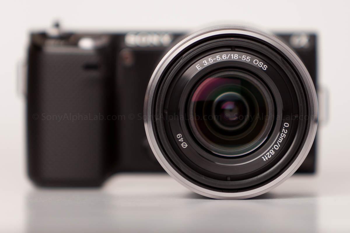 Sony E-Mount 18-55mm f/3.5-5.6 Zoom Lens on the Nex-5n