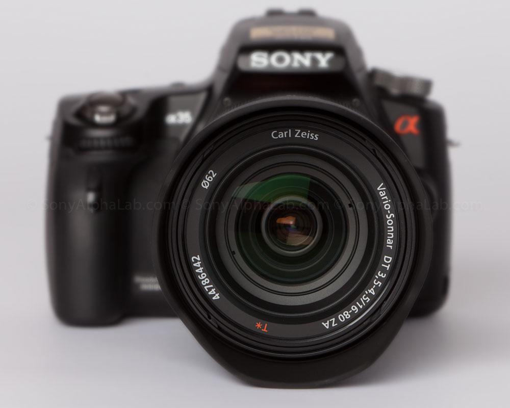 Sony Alpha 35, Sony 16-80mm f/3.5-4.5 Carl Zeiss Vario-Sonnar T* DT Autofocus Lens