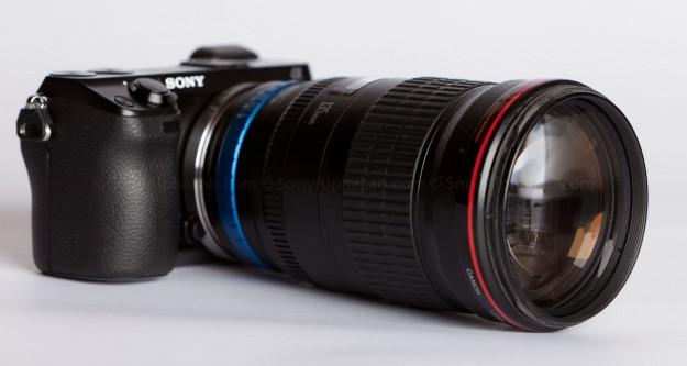 Nex-7 w/ Canon 135mm f/2 Lens