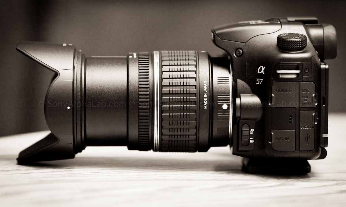 Sony A57 and the Tamron 17-50mm f/2.8 XR Di II LD Lens