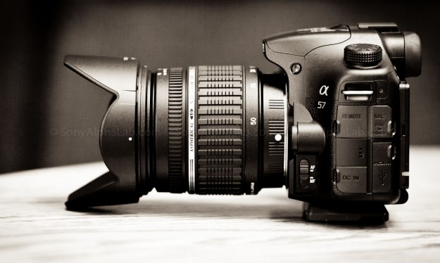 Sony A57 and Tamron 17-50mm f/2.8 Lens