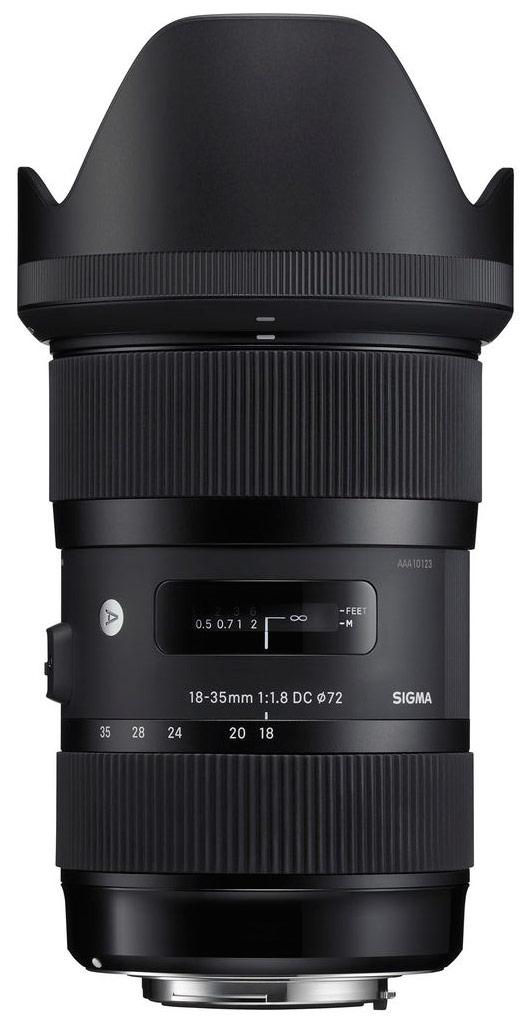 Sigma 18-35mm f/1.8 DC HSM Lens