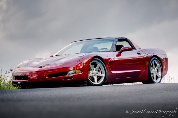 Corvette HDR Photograph - Nex-6 and 55-210mm lens @ 167mm