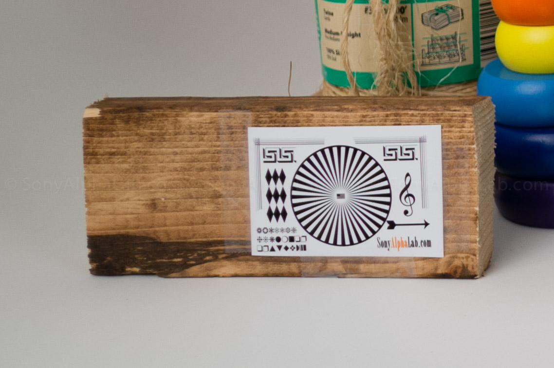 Sigma E-Mount 19mm f/2.8 DN Lens - Lab Tests @ F/2.8