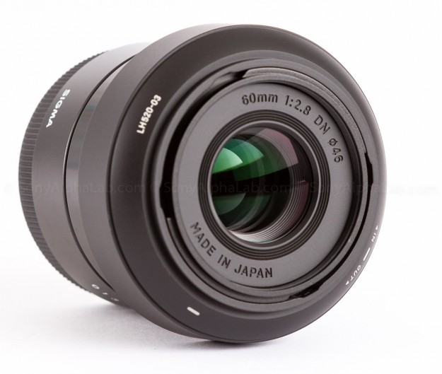 Sigma E-Mount 60mm f/2.8 DN Lens