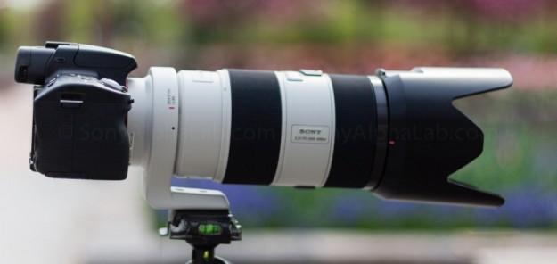 Sony a55, Sony 70-200mm f/2.8 Lens - Equipment View