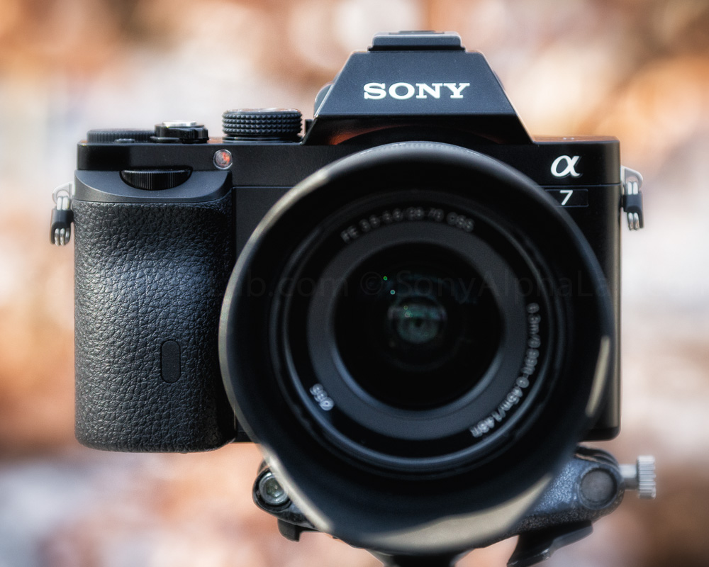 Sony Alpha A7 w/ 28-70mm kit lens