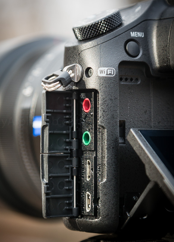 Sony RX10 Ports