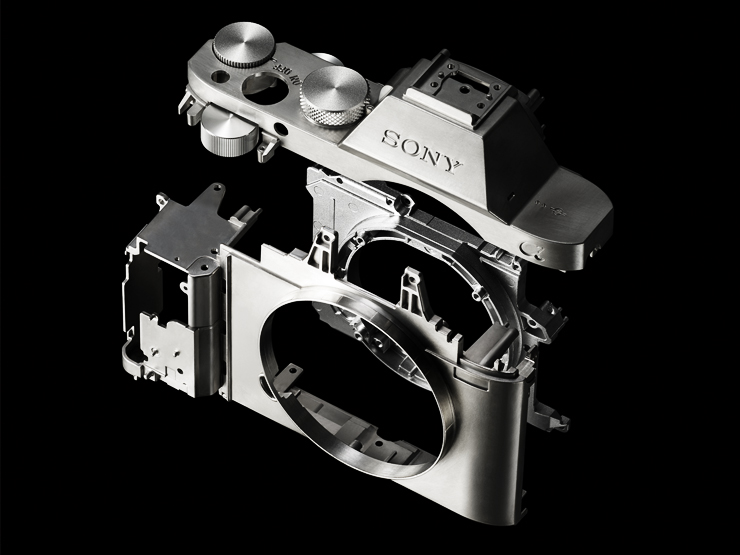 Sony A7R Magnesium Chassis