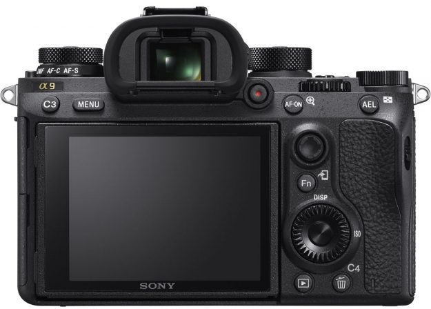 Sony A9 Back Lcd View