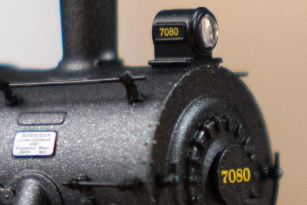 100% Crop - 200mm, f/2.8