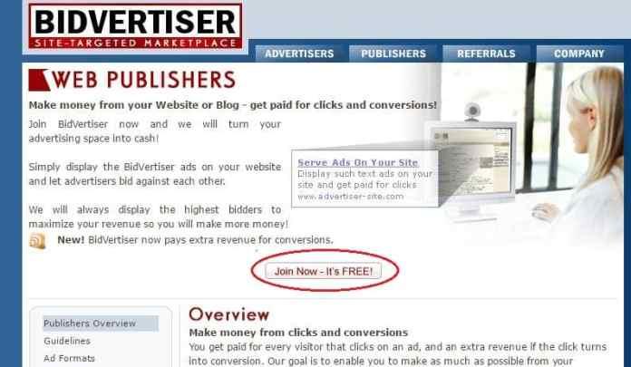 Kiem tien online voi mang quang cao Bidvertiser cho cac blogger - 2