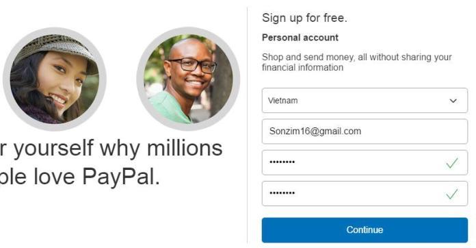Cách đăng ký PayPal - Ảnh 3