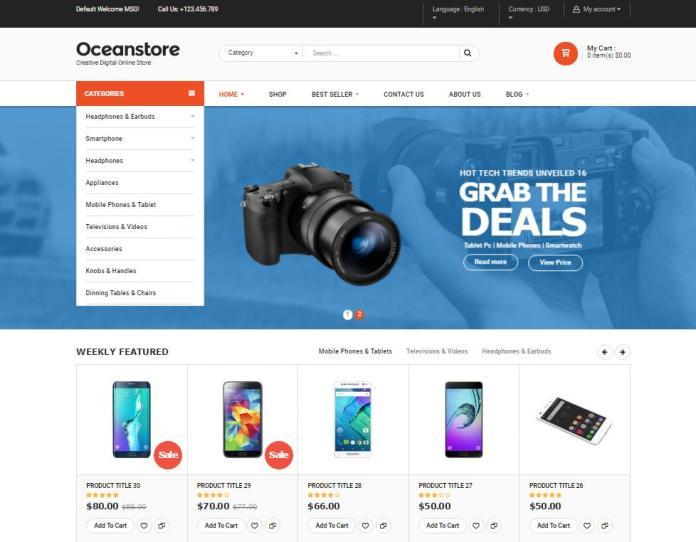 Top 20 theme WordPress tốt nhất cho website bán hàng - Ảnh theme 15
