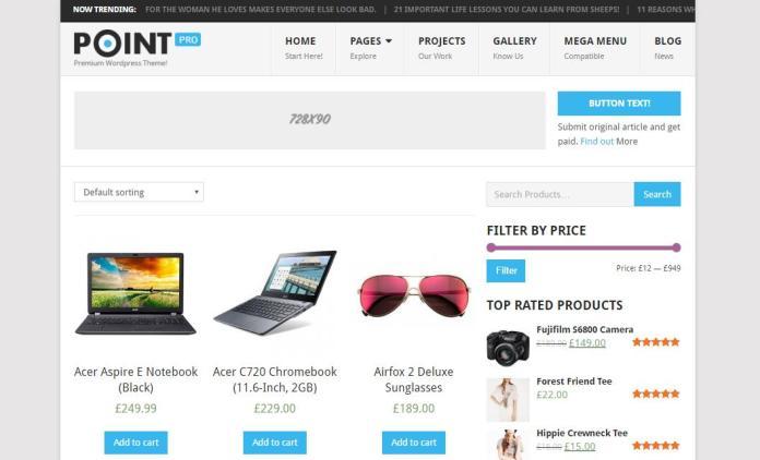 Top 20 theme WordPress tốt nhất cho website bán hàng - Ảnh theme 3