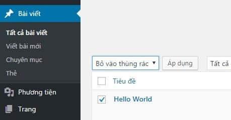 Những công việc cần làm sau khi cài đặt WordPress - Ảnh 1