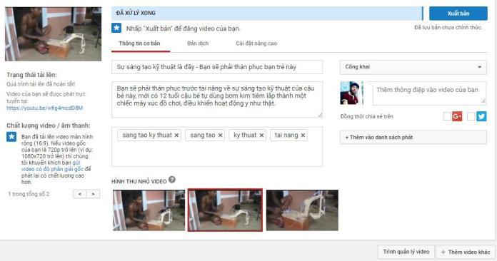 Hướng dẫn cách đăng video lên Youtube chuẩn SEO nhất - 2