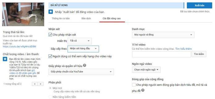Hướng dẫn cách đăng video lên Youtube chuẩn SEO nhất - 3