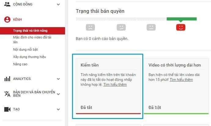 Những lý do kênh YouTube bị tắt tính năng kiếm tiền - Ảnh 3