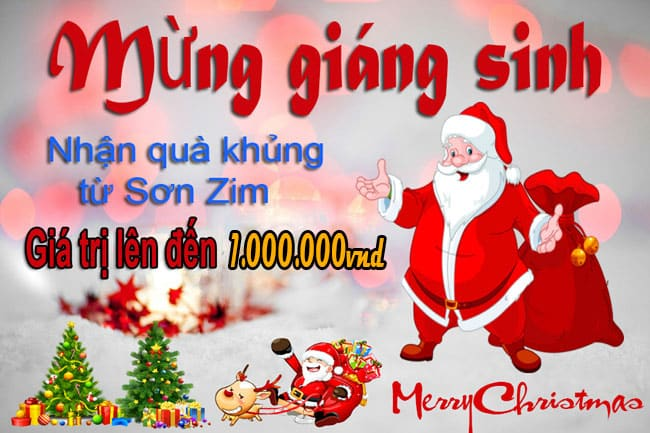 Đua top comment mừng lễ Noel nhận ngay quà tặng 1.000.000đ