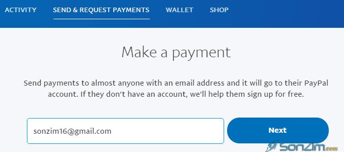 Cách chuyển tiền trên PayPal không mất phí - 3